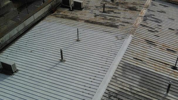 electrolysis on metal roof