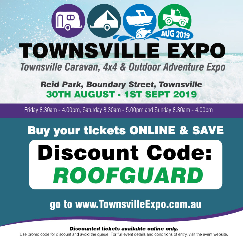 Roofguard Discount Code for Tsv Expo 2019