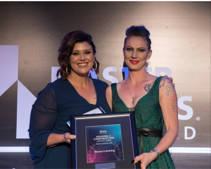 Women in Building Award NQLD 2019 with Melissa Coulter