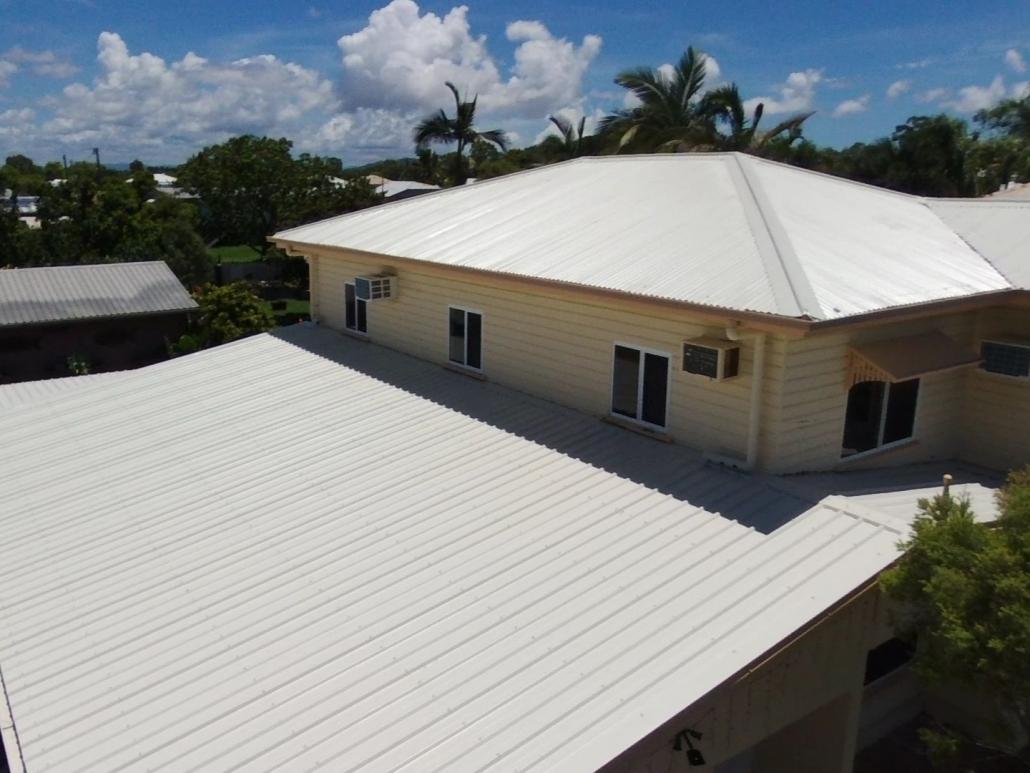 Metal Roof Painting Surfmist Roofguard